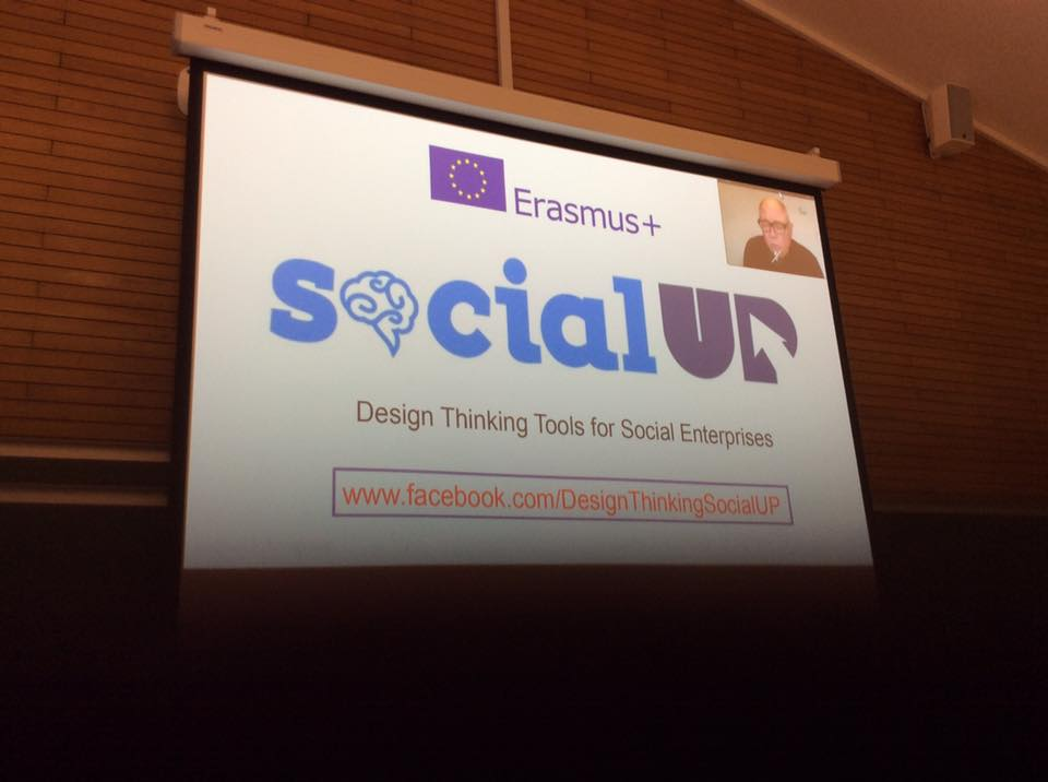 Social UP presented in Startup Europe Week 2017 in Aarhus, Denmark