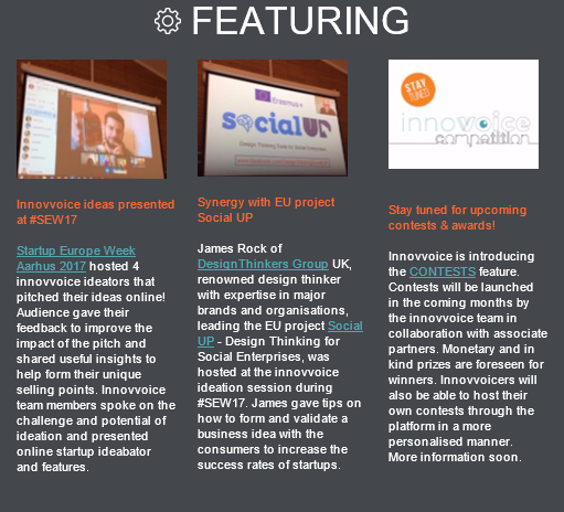 SocialUP featuring in innovvoice.com newsletter!