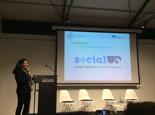 SocialUP presented in Rome, Italy